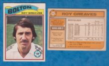 Bolton Wanderers Roy Greaves 44